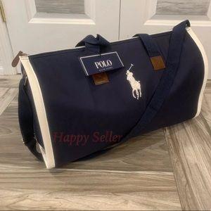 Polo Lauren Duffle Bag Gym Holdall Weekender Tote